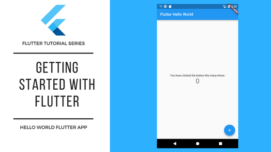 Flutter Tutorials - Getting Started with Flutter - TECH WITH SACH